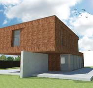 blanco architecten - woning VM - loonbeek