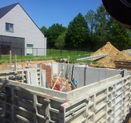 blanco architecten - nieuwbouw BH - sterrebeek