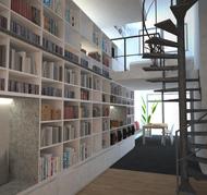 blanco architecten bvba - interieur BT - laken