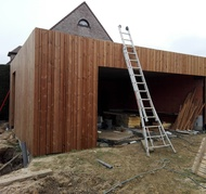 blanco architecten - woning GC - hoeilaart