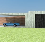blanco architecten bvba - carport VK - overijse