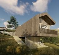 blanco architecten - woning SV - Durbuy