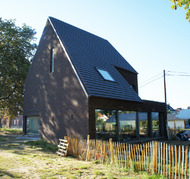 blanco architecten - woning AE - wilsele